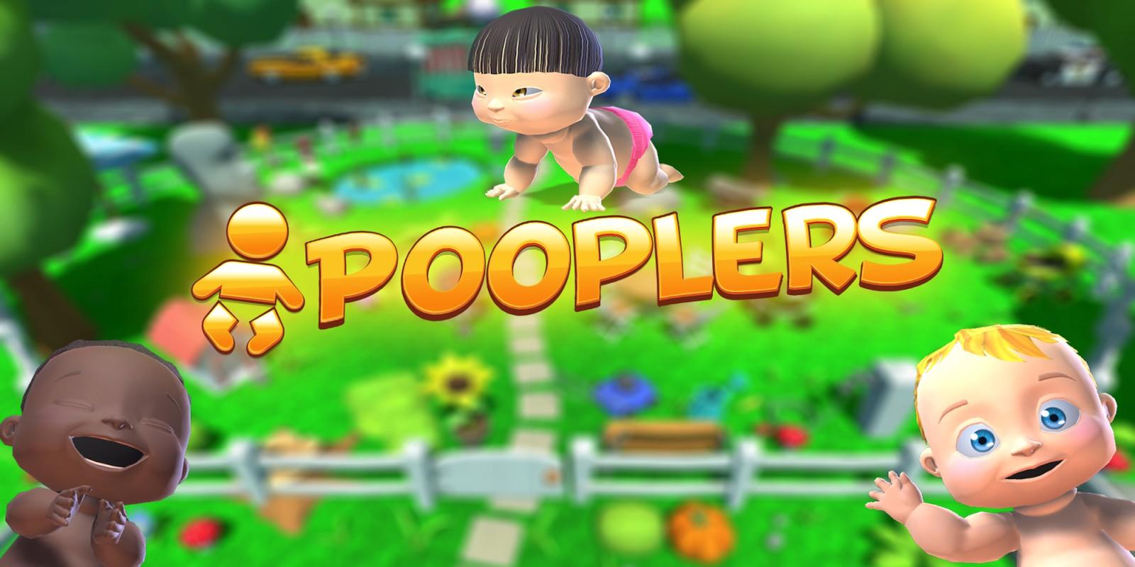 Pooplers это Splatoon c какающими младенцами, и игра выходит на Switch на следующей неделе