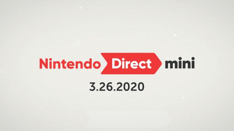 Nintendo Direct Mini уже доступен для просмотра