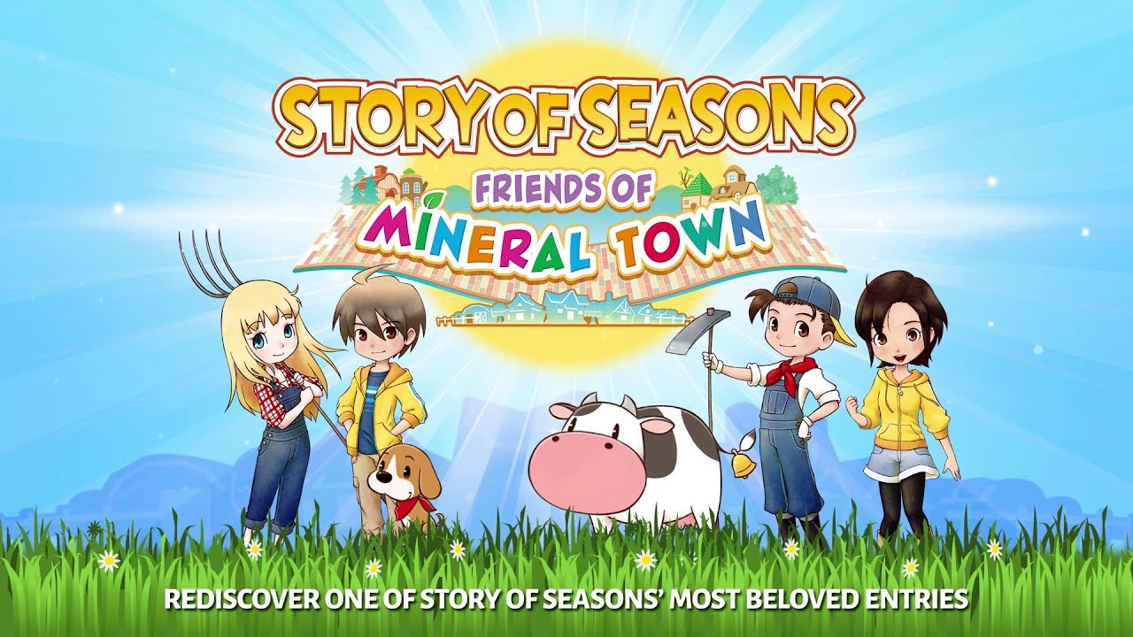 Story Of Seasons: Friends Of Mineral Town запустят 10 июля в Европе!