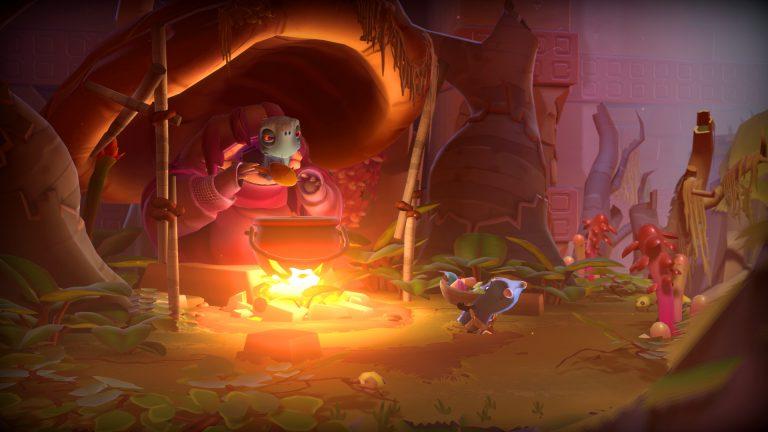 Разработчики No Man's Sky показывают геймплей своей новой игры-головоломки The Last Campfire