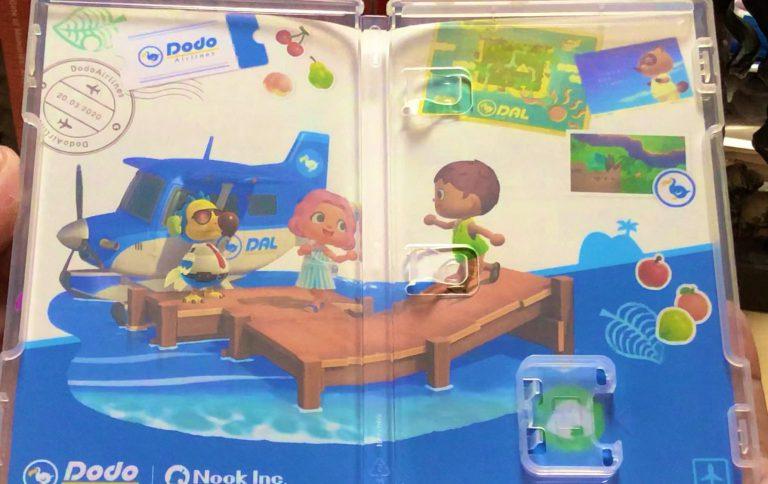 Распаковка физического издания Animal Crossing: New Horizons