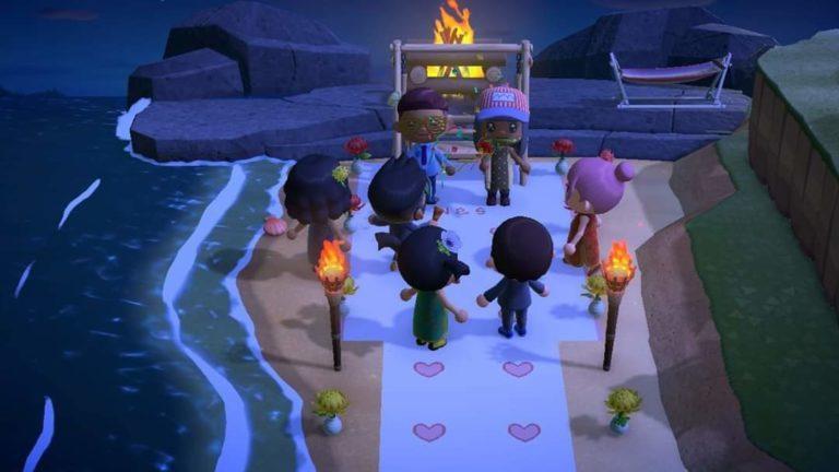 Минутка милоты: жених устроил неожиданную свадьбу в Animal Crossing: New Horizons после того, как настоящая была отменена из-за коронавируса