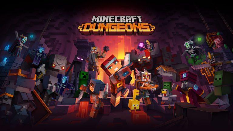 Minecraft Dungeons выйдет 26 мая