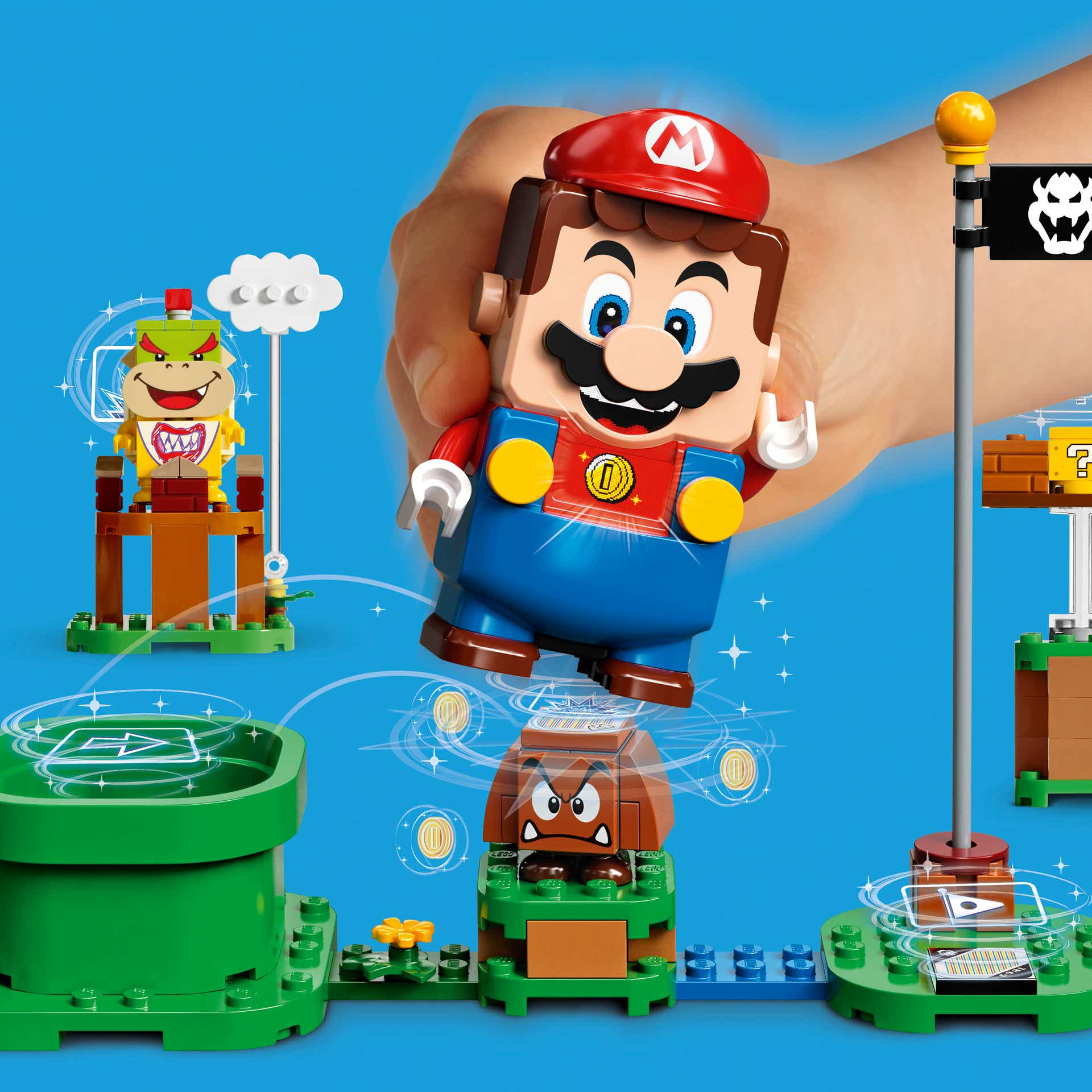 Более подробная информация о LEGO Super Mario и его создании