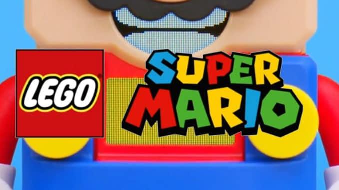 Nintendo тизерит коллаборацию LEGO с Super Mario