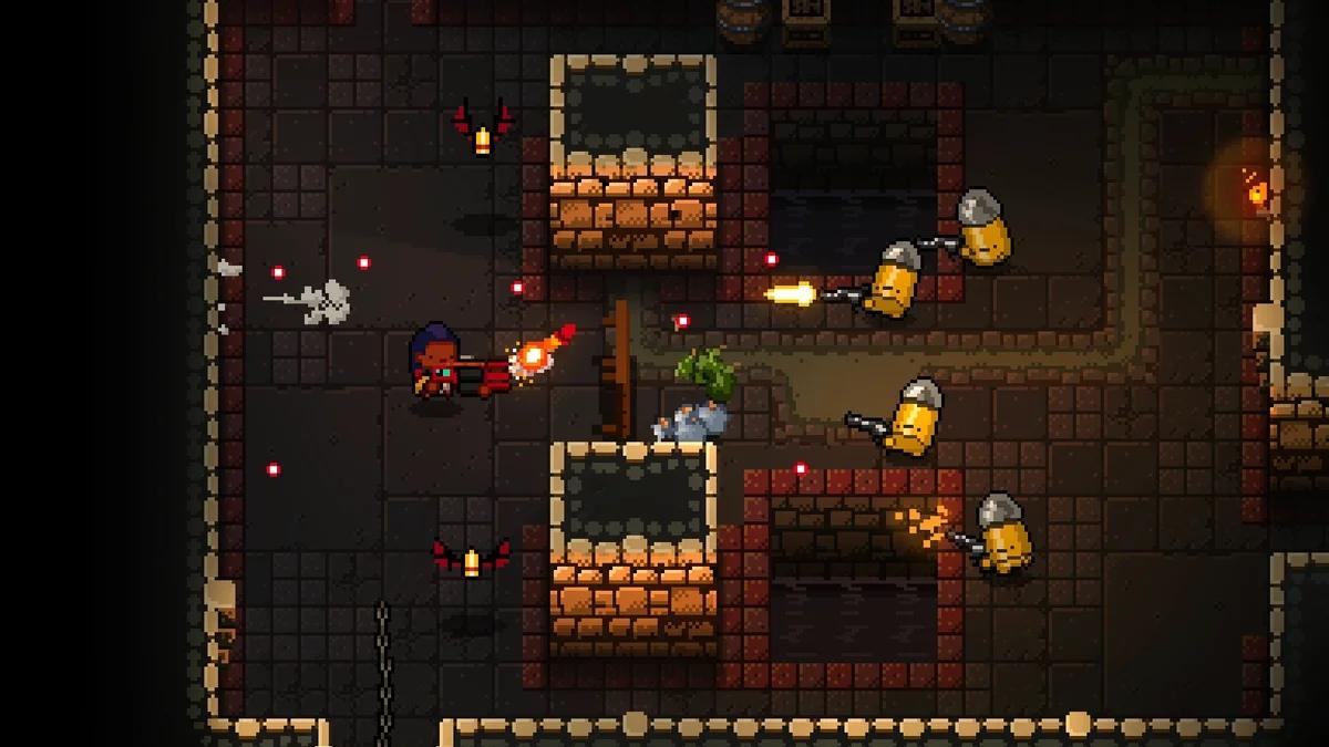 На Nintendo Switch выйдет продолжение Enter The Gungeon – Exit The Gungeon