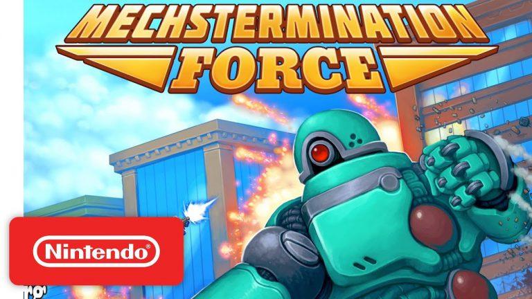 Выходит следующий физический релиз SUPER RARE GAMES – Mechstermination Force!