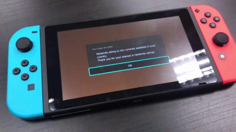 Все онлайн-сервисы на Nintendo Switch в данный момент недоступны.