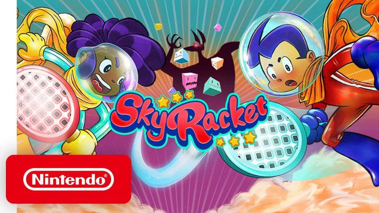 Sky Racket стала доступна в Eshop, а так же геймплей