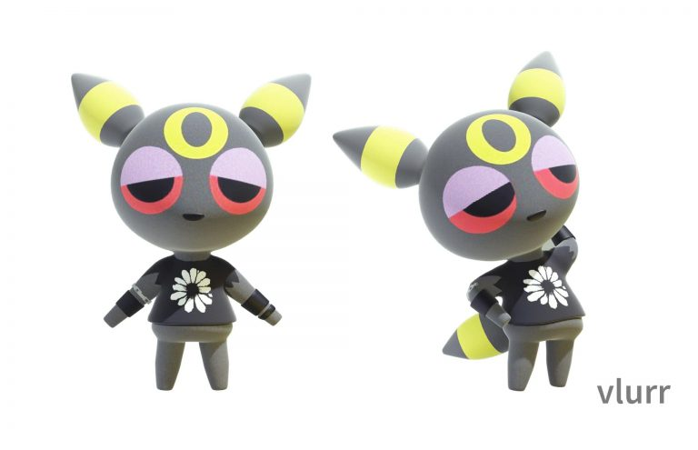 Фан арт: семейство покемонов Eevee, представлено в качестве жителей Animal Crossing