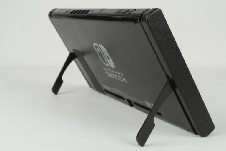 Gravilogic представили матовые черные выкидные ножки для Nintendo Switch