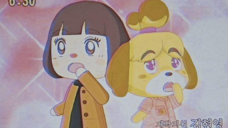 Один из фанатов Animal Crossing создал анимацию по игре в стиле 80-х