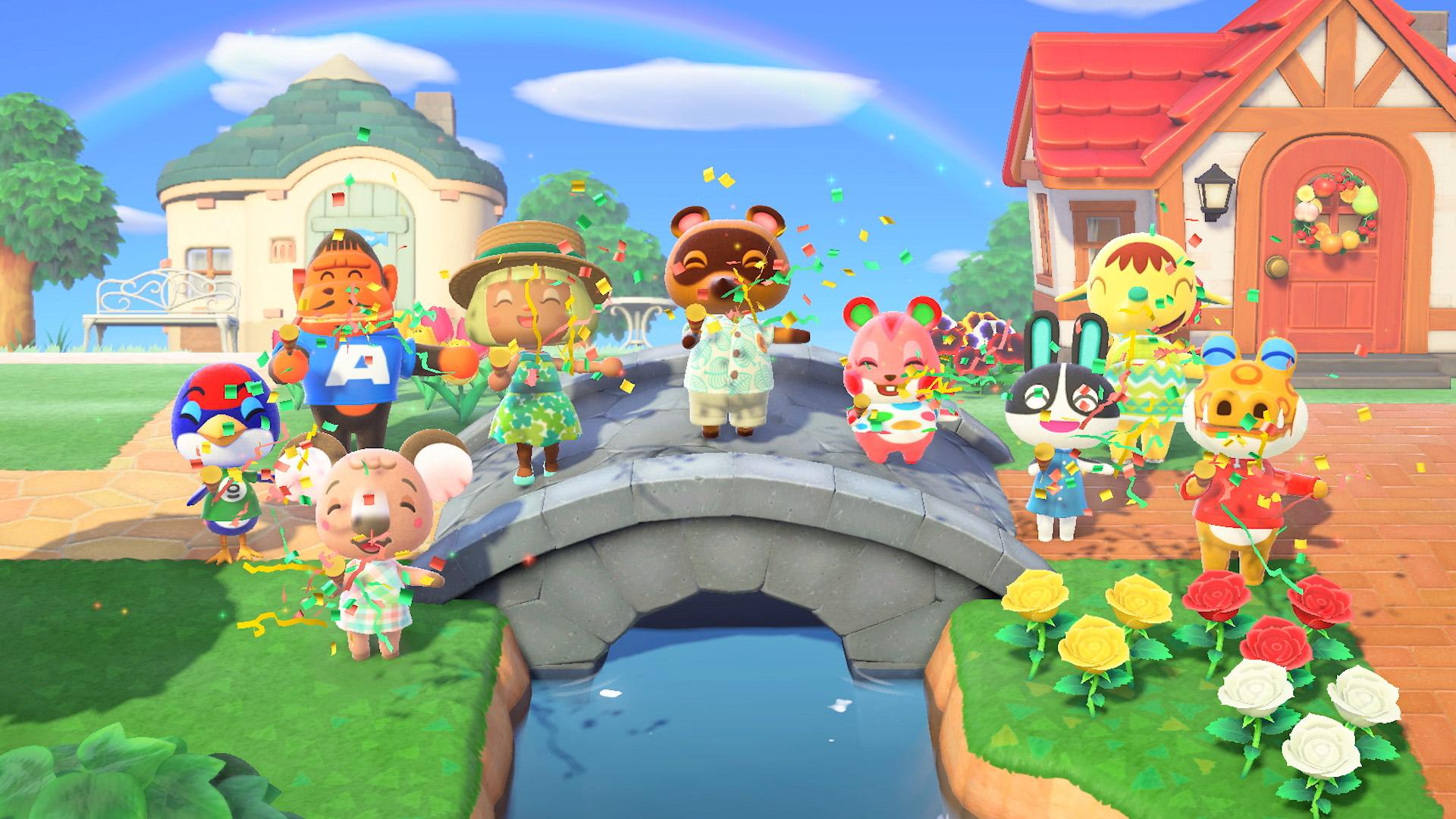 Цифровые продажи Animal Crossing: New Horizons за месяц достигли 5 миллионов копий!