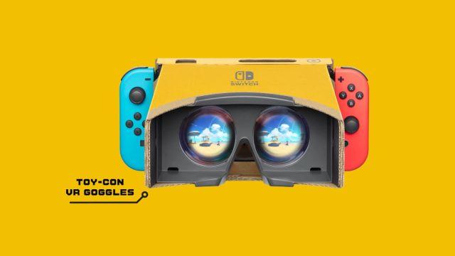 Nintendo Labo VR празднует свою первую годовщину!