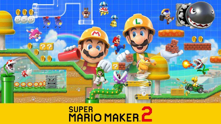 Nintendo выпустит новое глобальное обновление для Super Mario Maker 2