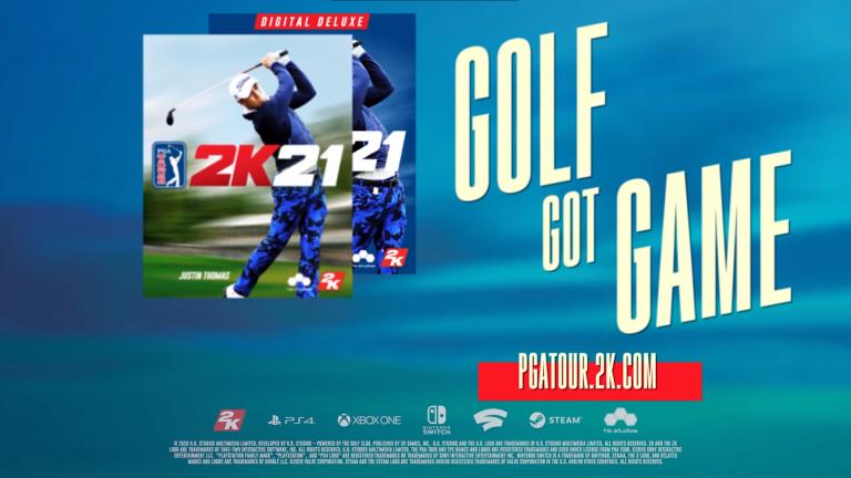 PGA Tour 2K21 анонсирована на Switch
