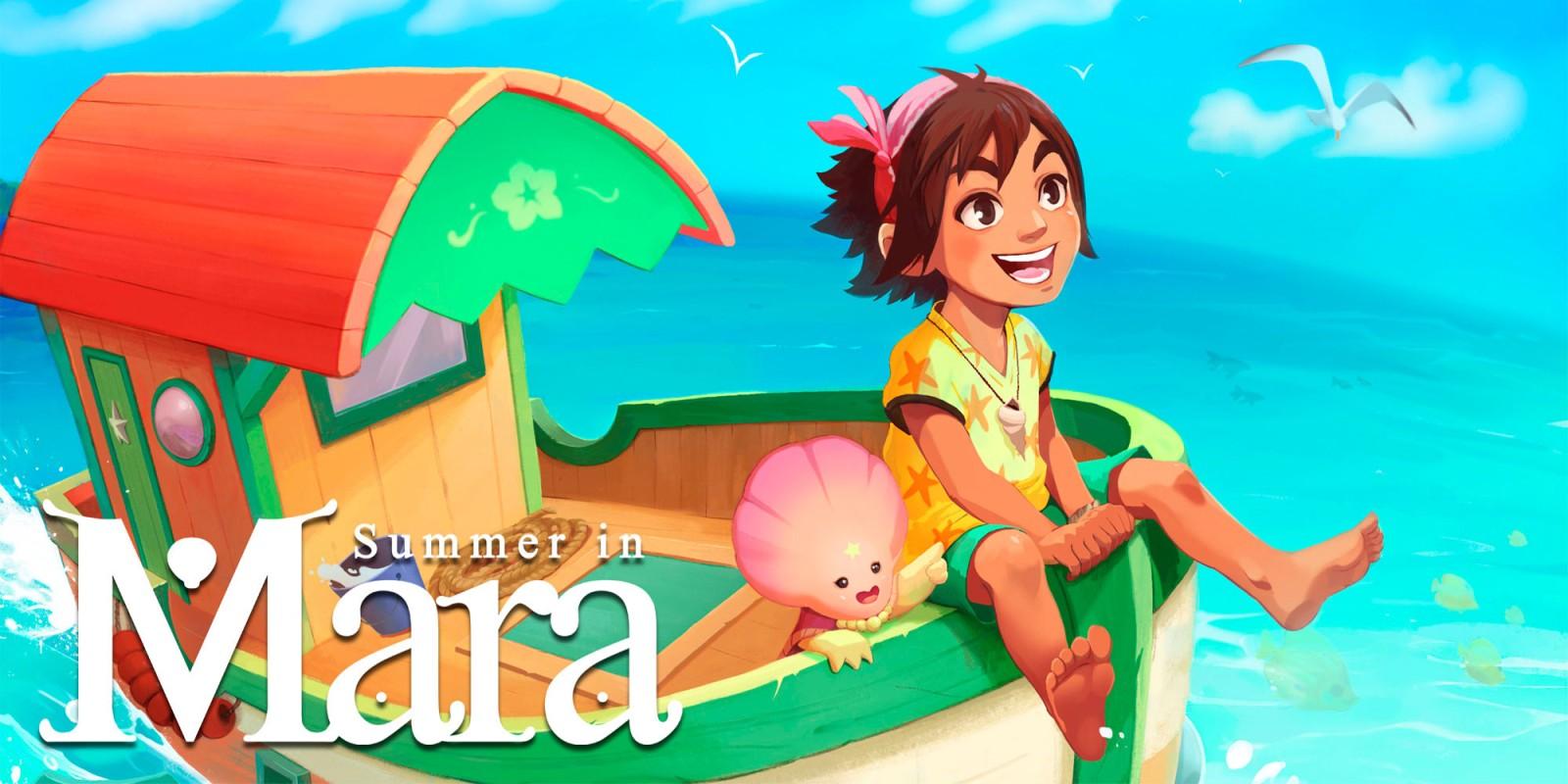 Summer in Mara выйдет на Switch 16 июня