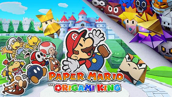 Анонсирована новая часть Paper Mario – Paper Mario: The Origami King!