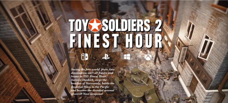Toy Soldiers 2: Finest Hour анонсирована на Switch вместе с HD-коллекцией!