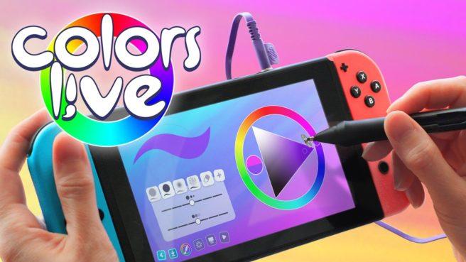 Color Live появится на Nintendo Switch