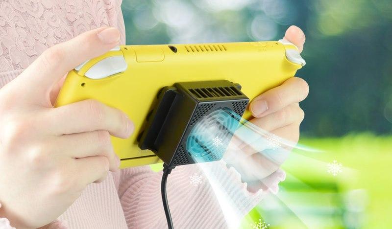 Gamers Mobile Cooler – новый охлаждающий аксессуар для Switch!
