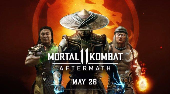 Mortal Kombat 11: Aftermath – появились новые видео дополнения!