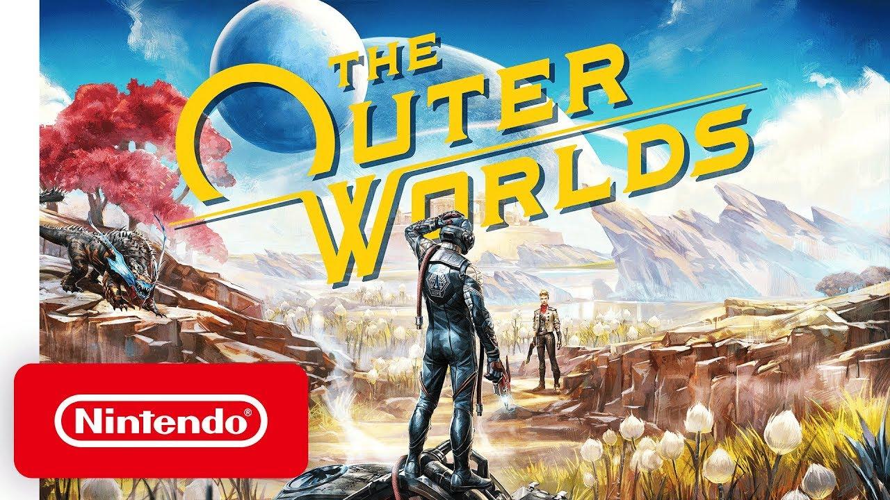 Стали известны размеры новых выходящих игр на Switch! The Outer Worlds, Ion Fury и других