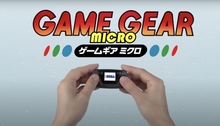Sega празднует свое 60-летие с Микро версией Game Gear!