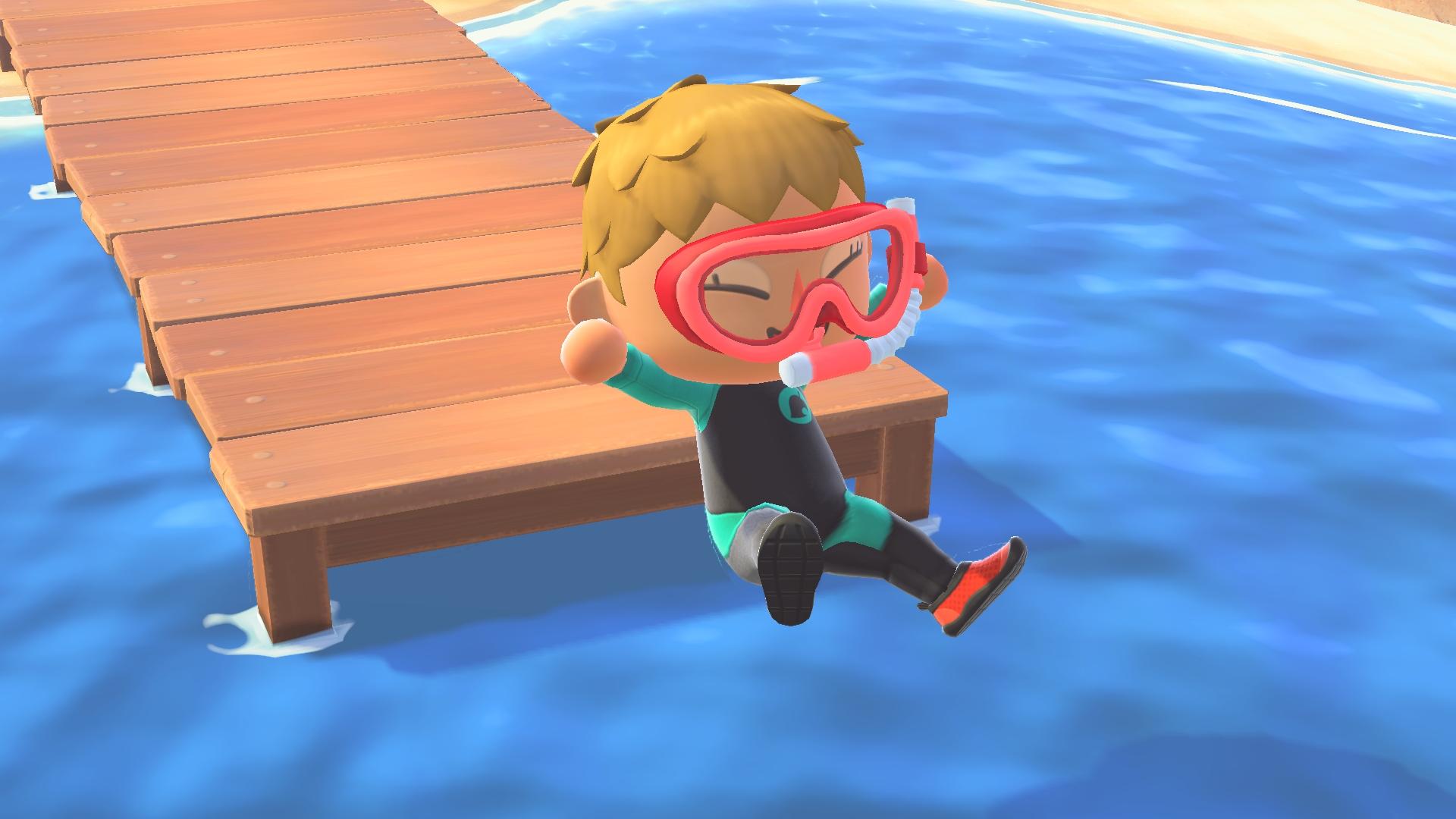 Купальный сезон в Animal Crossing New Horizons