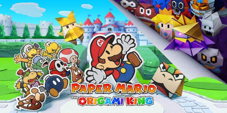 Paper Mario: The Origami King объявлены подарки за предзаказ в магазине Nintendo UK!