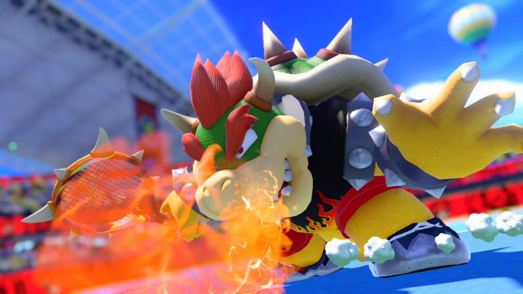 Mario Tennis Aces доступно июньское обновление!