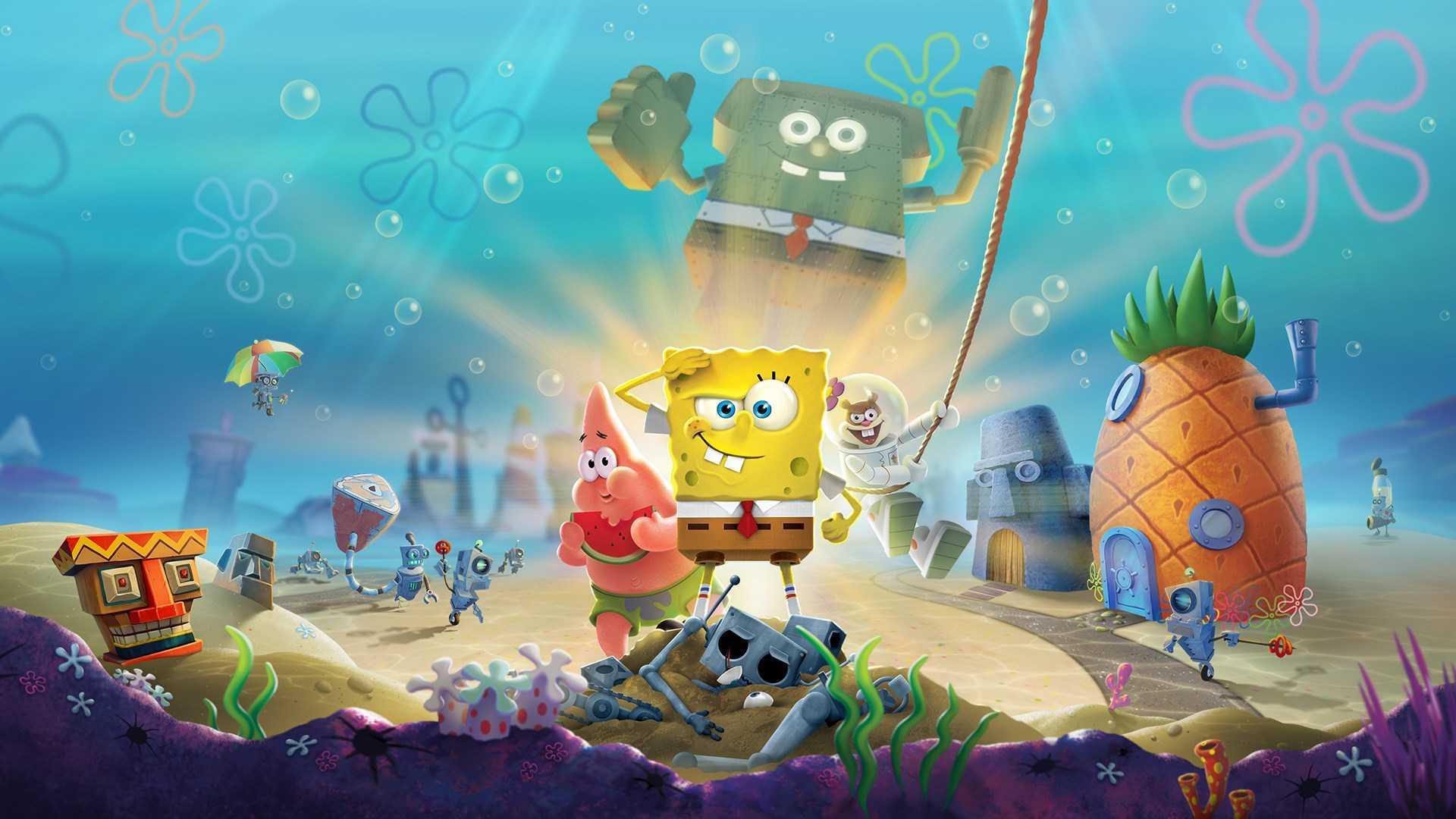 Новый трейлер SpongeBob SquarePants: Battle for Bikini Bottom