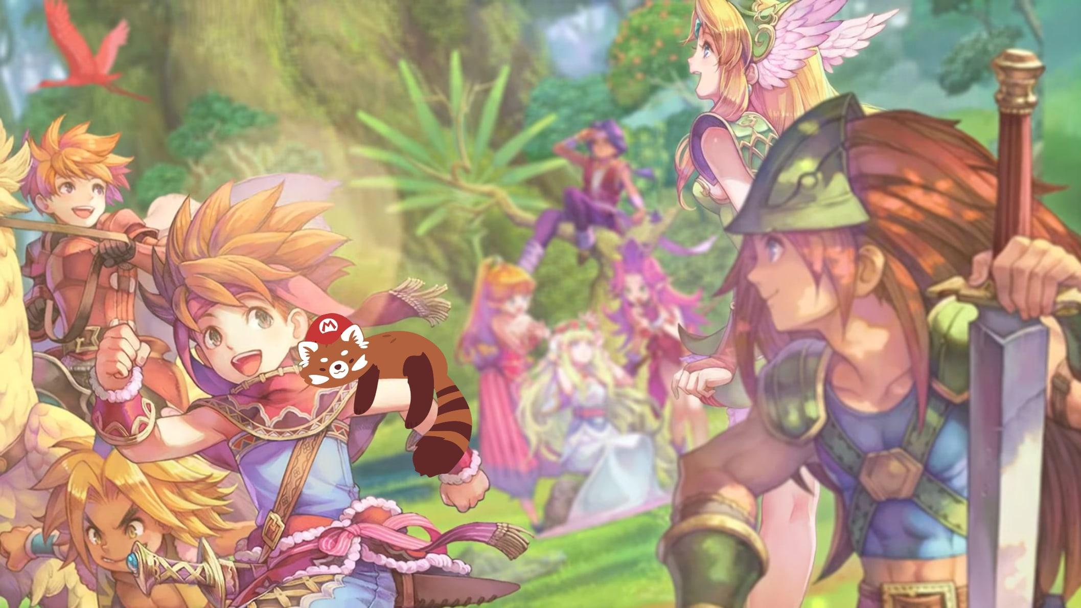 Видеообзор Trials of Mana для Nintendo Switch