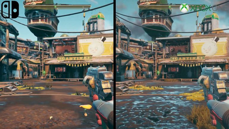 Read more about the article The Outer Worlds – появилось видео-сравнение Switch против Xbox One и PC !