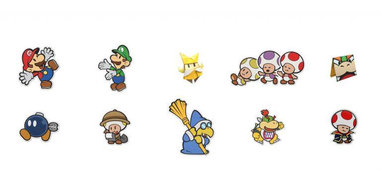 Paper Mario: The Origami King опубликованы детали персонажей, локаций и боссов!