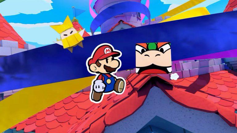 Подробный обзор Paper Mario: The Origami King!