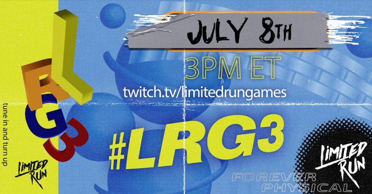 Презентация LIMITED RUN GAMES 8 июля покажет почти 40 физических релизов!