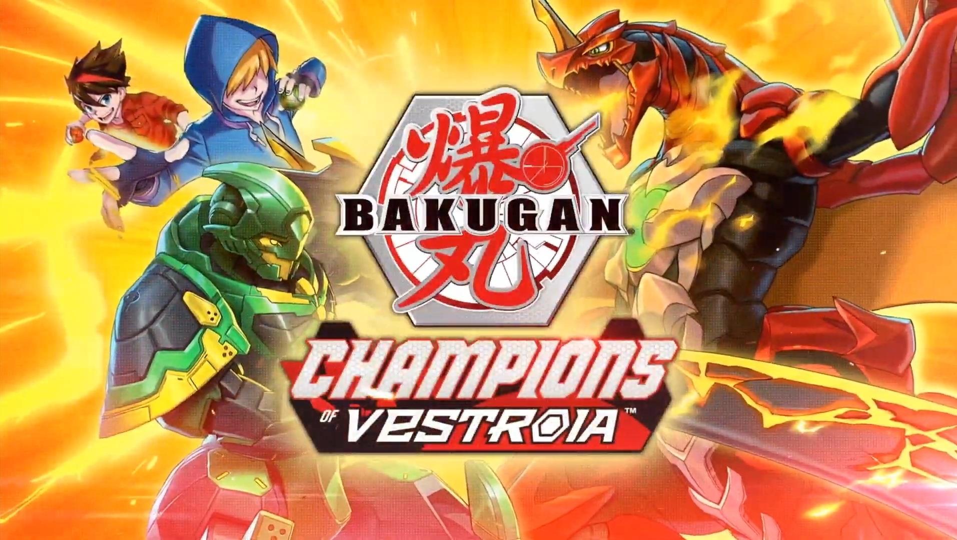 Bakugan: Champions of Vestroia анонсирована для Nintendo Switch
