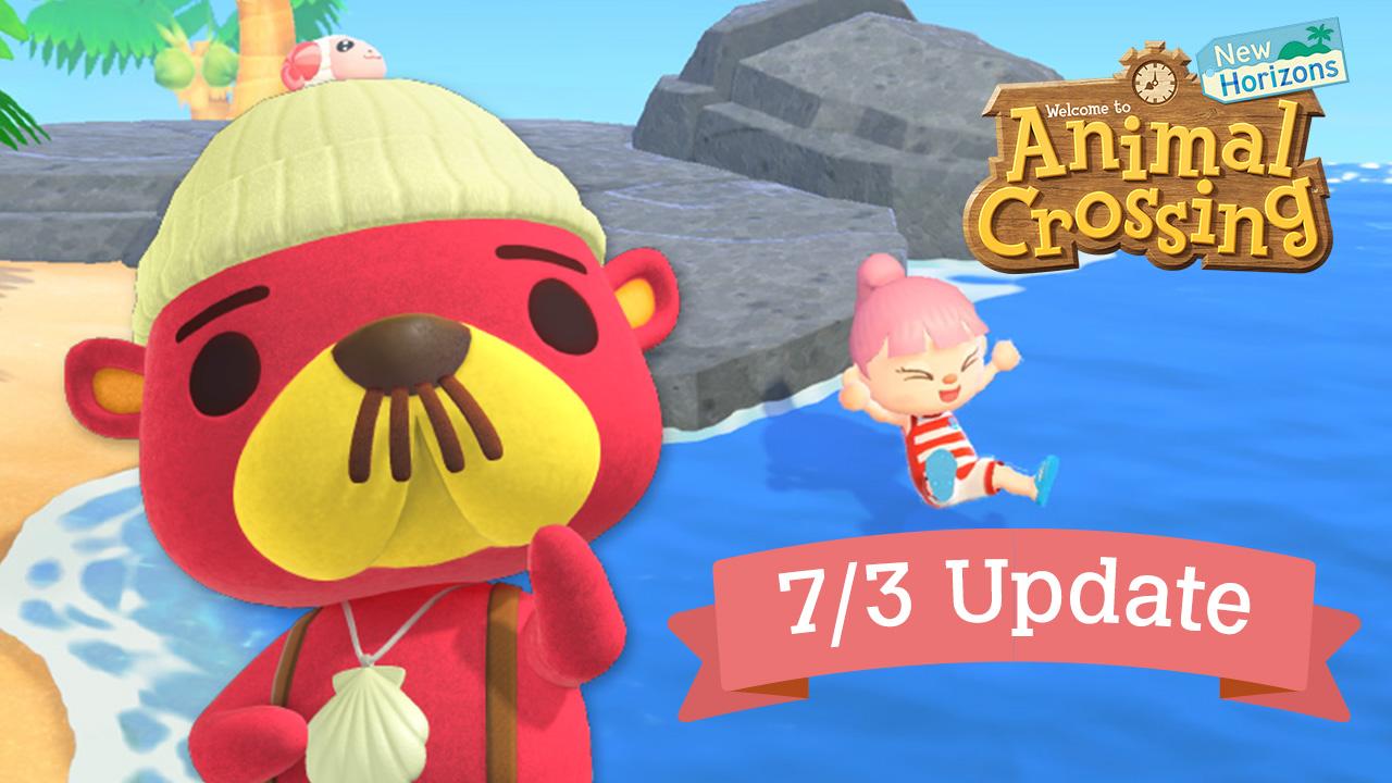Новое летнее обновление Animal Crossing: New Horizons уже доступно!