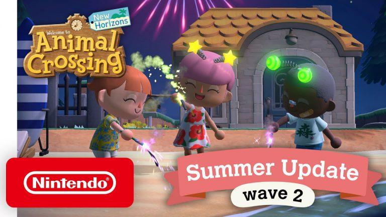 Новое обновление для Animal Crossing: New Horizons выйдет 30 июля!