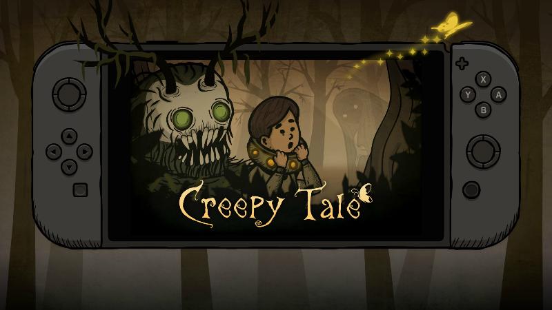 Creepy Tale выйдет на Switch
