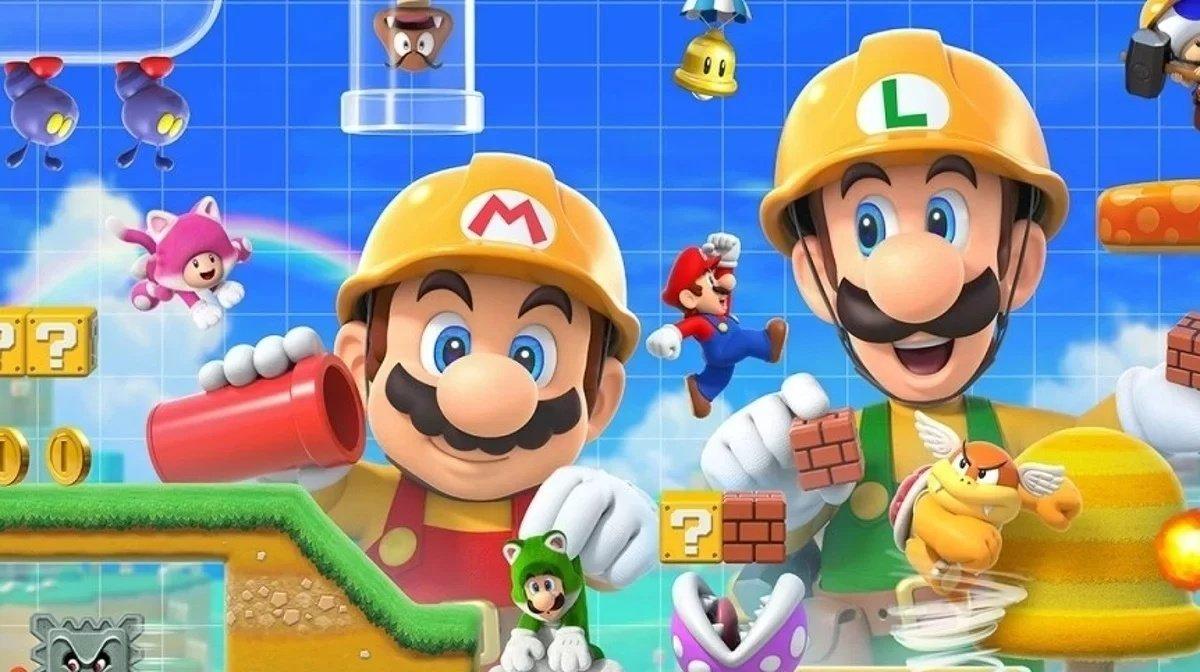 Новое обновление Super Mario Maker 2 уже вышло!