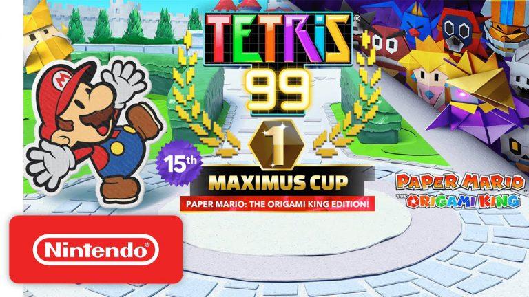 Nintendo анонсировала Гран-при #15 для Tetris 99