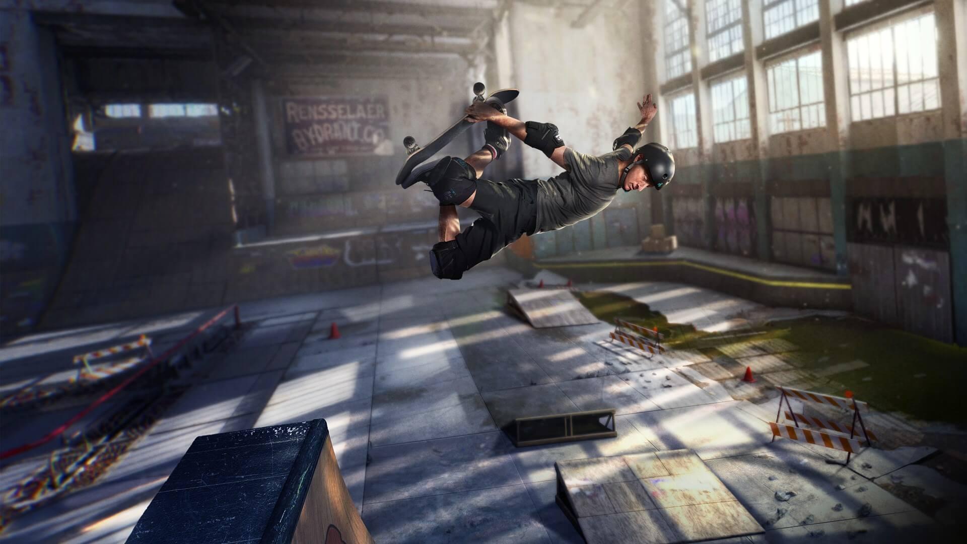 Слух: в демо-версии Tony Hawk's Pro Skater 1 + 2 нашли изображения Джой-Конов и Про контроллера