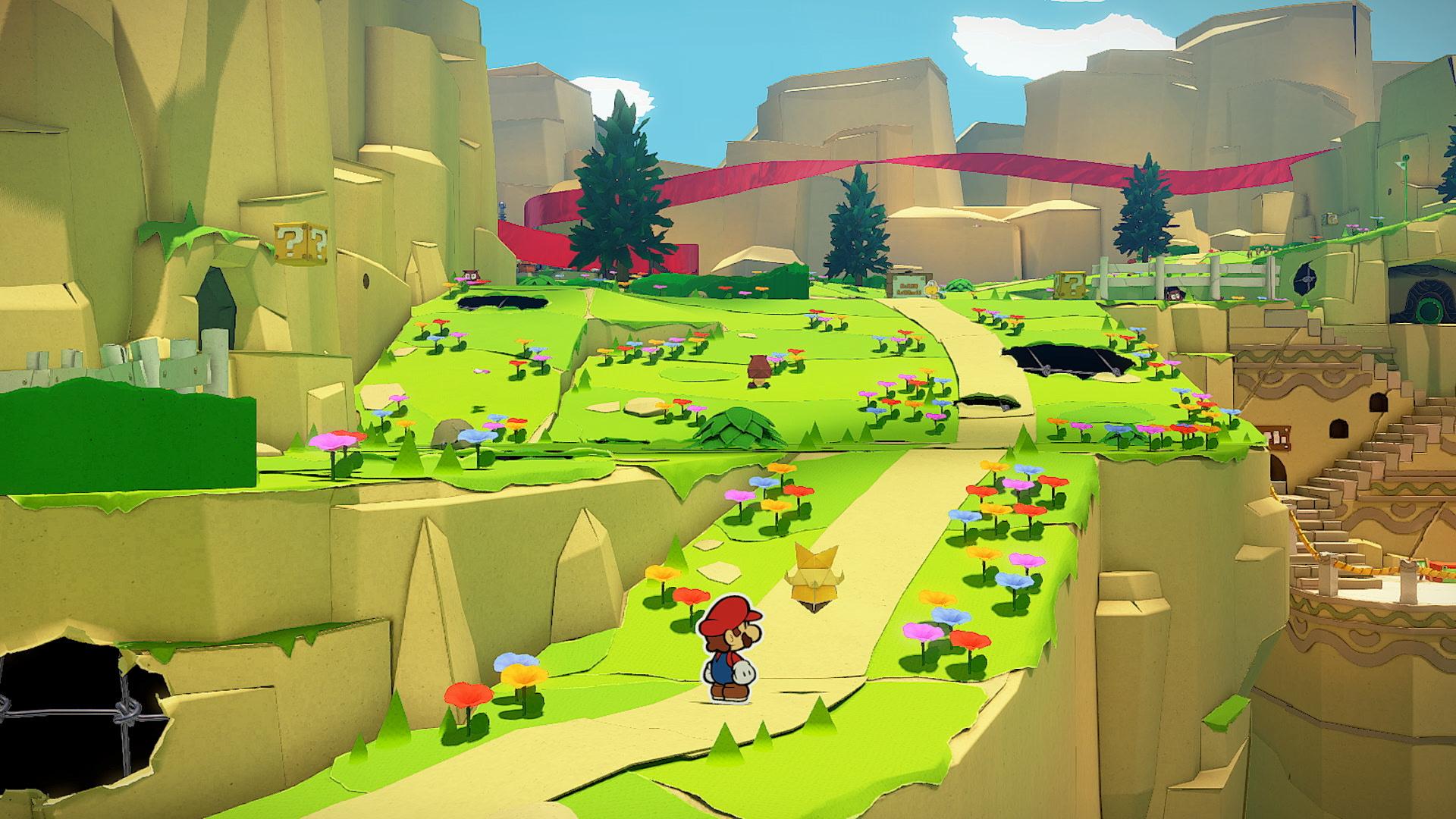 Обзор Paper Mario: The Origami King — бумажное приключение