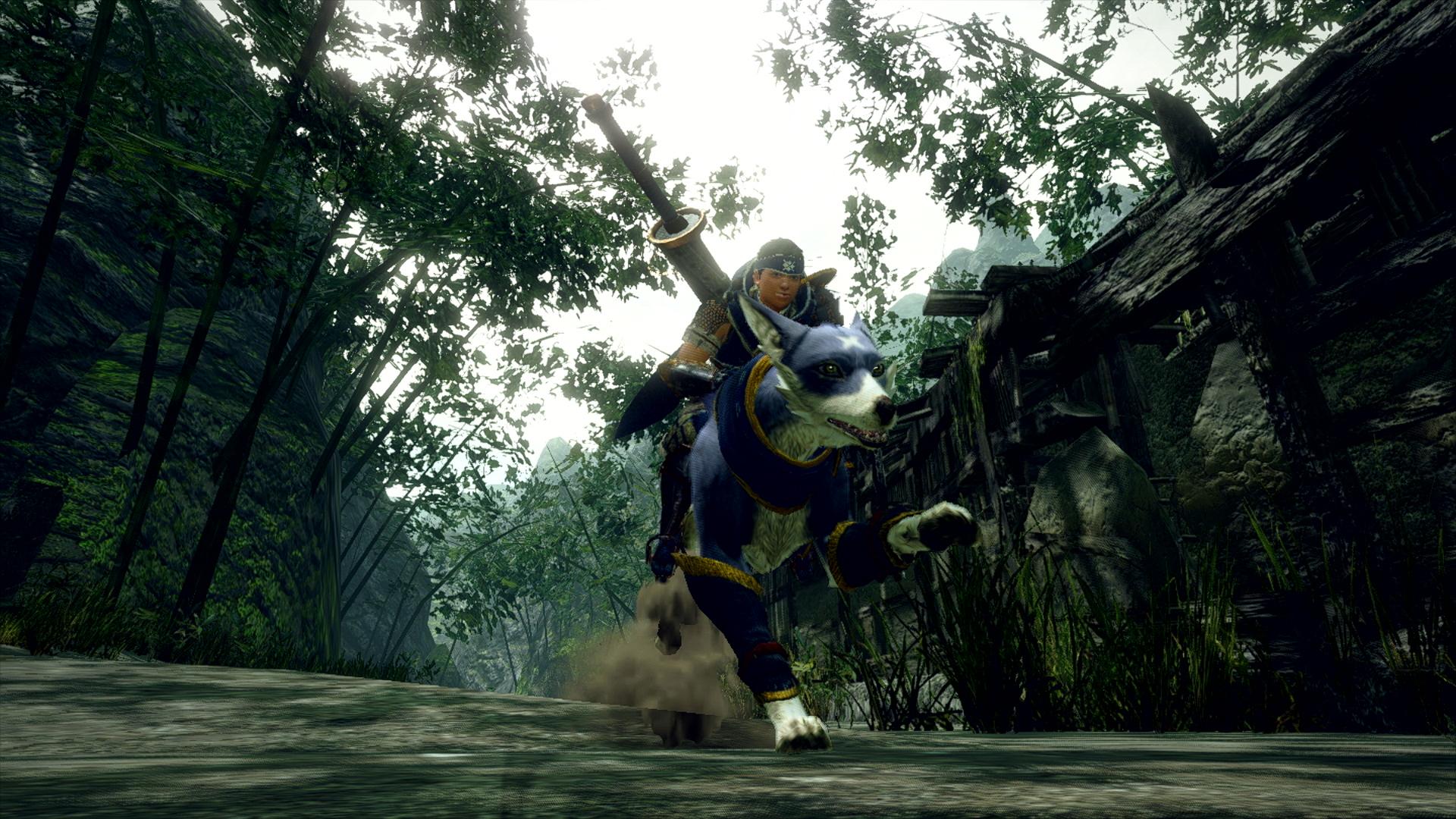 Первые кадры геймплея Monster Hunter: Rise