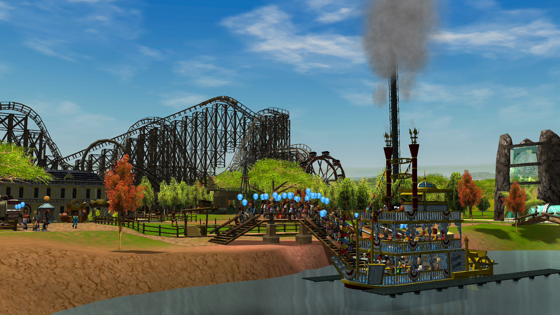 RollerCoaster Tycoon 3: Complete Edition официально анонсирована на Switch