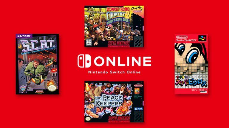 Nintendo анонсировала новые игры для приложений NES и SNES