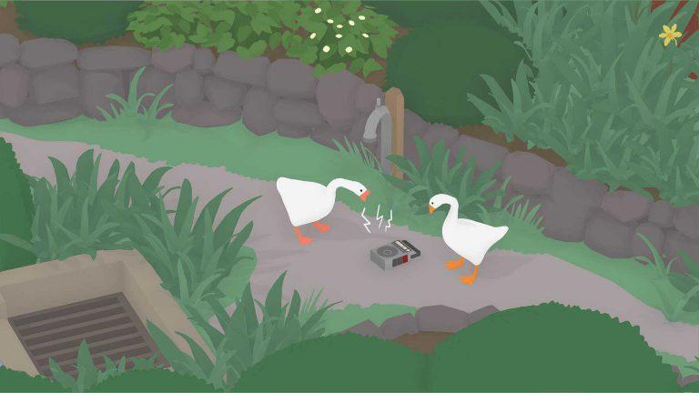 В Untitled Goose Game появился кооперативный режим!