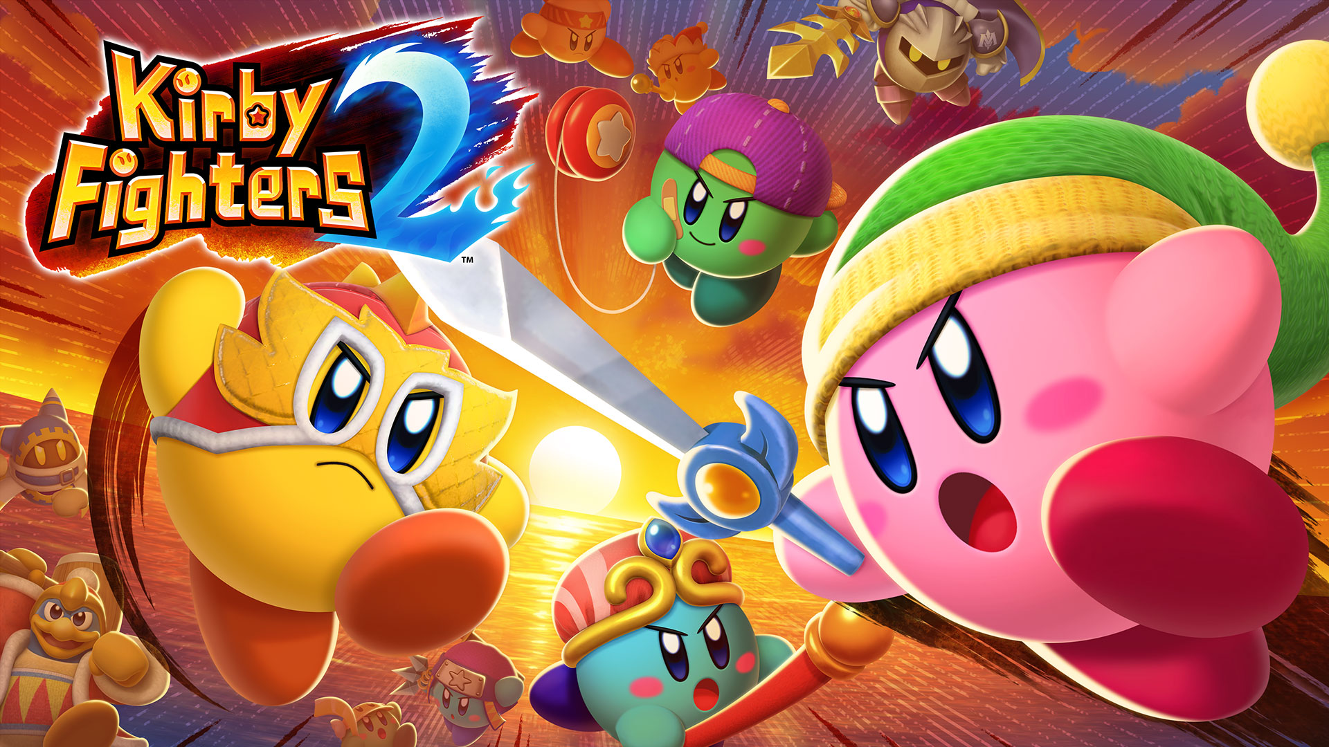 Kirby Fighters 2 уже доступна в eShop!